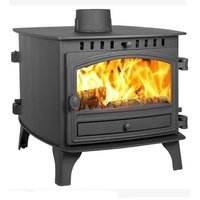 Hunter Herald 8 Double Sided  Double Depth Multifuel Stove