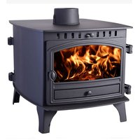 Hunter Herald 8 Double Sided  Double Depth Wood Burning Stove