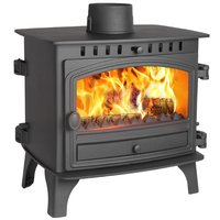 Hunter Herald 8 Double Sided  Single Depth Multifuel Stove