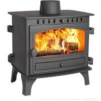 Hunter Herald 8 Double Sided  Single Depth Wood Burning Stove