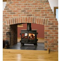 Hunter Herald 6 Double Sided  Double Depth Multifuel Stove