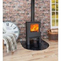 Mendip Loxton 5SE Logstore Defra Approved Wood Burning   Multi Fuel Stove