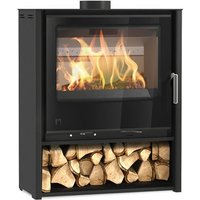 Arada i600 Freestanding Mid Wood Burning   Multi Fuel Defra Approved Stove