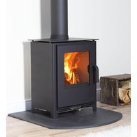Mendip Loxton 8 SE Defra Approved Wood Burning   Multi Fuel Stove