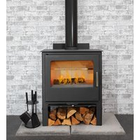 Mendip Loxton 10 Wood Burning Stove with Logstore