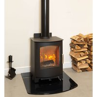 Mendip Churchill 8 SE Defra Approved Wood Burning   Multi Fuel Stove