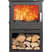 MI Scafell Multifuel Stove with Log Box