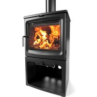 Saltfire Peanut 8 Tall Wood Burning   Multi Fuel Eco Design Stove