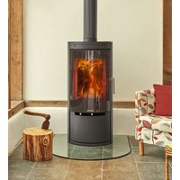 Opus Melody G 5kW DEFRA Approved Wood Burning Stove With Glass Door