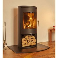 Opus Melody 5kW Ecodesign Ready Wood Burning Stove With Log Store
