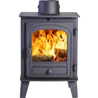 Parkray Consort 4 Double Sided Single Depth Wood Stove