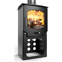 Saltfire ST X4 Tall Eco Design Ready Multi Fuel Stove