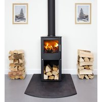 Westfire Series One DEFRA Approved Multifuel Stove with Logstore
