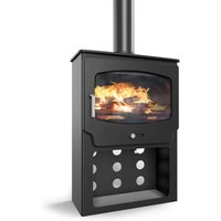 Saltfire ST X Wide 5kW Tall Ecodesign Multifuel Stove