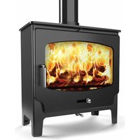Saltfire ST X Wide 5kW Ecodesign Wood Burning Stove