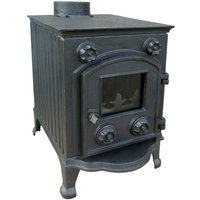Evergreen Orford Multifuel Stove with Reeded Sides
