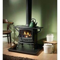 Tiger Multifuel and Wood Burning Stove with Americana Cook Top