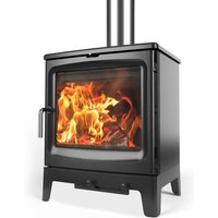 Saltfire Peanut 8 Wood Burning   Multi Fuel Eco Design Stove