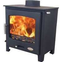 Woolly Mammoth 5 Widescreen Defra Approved Multifuel Stove