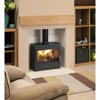 Bohemia X40 Cube Extra Wide Multifuel Defra Stove