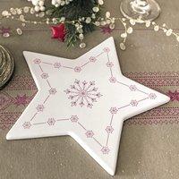 Accessoires de Table. Forme étoile Céramique