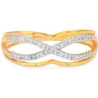 1/10ct Diamond Ring In 9k Gold