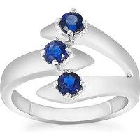 0.90ct Himalayan Kyanite Sterling Silver Ring