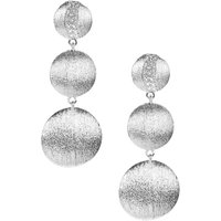 White Topaz Earrings In Sterling Silver 0.26cts