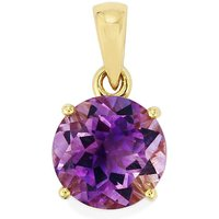 Moroccan Amethyst Pendant In 9k Gold 3.35cts