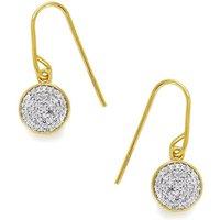 1/5ct Diamond Midas Sterling Silver Earrings