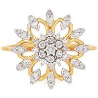 1/4ct Diamond Ring In 9k Gold
