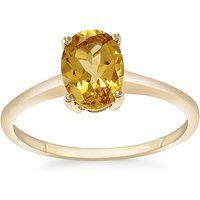 1.06ct Xia Heliodor 9k Gold Ring