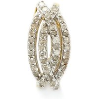 .16ct Diamond 9k Gold Pendant