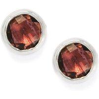0.84ct Pink Tourmaline Sterling Silver Earrings