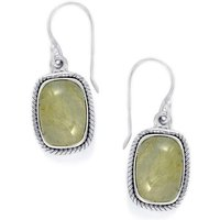 15.00ct Rutilite Sterling Silver Aryonna Earrings