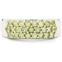 1.10ct Changbai Peridot Sterling Silver Ring