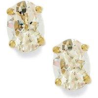 1.55ct Goshenite 9k Gold Earring