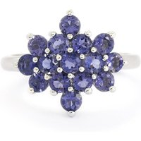 1.37ct Bengal Iolite Sterling Silver Ring