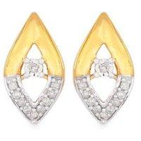 1/10ct Diamond Earrings In 9k Gold