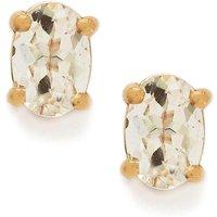 1.42ct Goshenite 9k Rose Gold Earrings