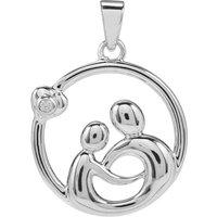 White Zircon Pendant In Sterling Silver 0.04ct