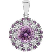 Moroccan Amethyst Pendant With Bahia Amethyst In Sterling Silver 2.07cts