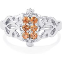 Gouveia Andalusite Ring In Sterling Silver 0.38cts