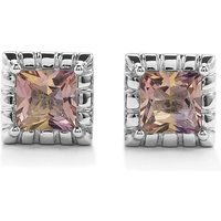 Anahi Ametrine Cufflinks In Sterling Silver 3.39cts