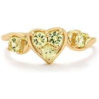 0.64ct Brazilian Chrysoberyl 9k Gold Ring