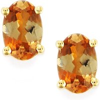 0.86ct Gouveia Andalusite 9k Gold Earring