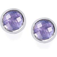 1.10ct Tanzanite Sterling Silver Earrings