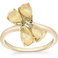 1.04ct Ethiopian Opal 9k Gold Ring