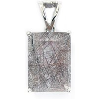17.28ct Bahia Rutilite Sterling Silver Pendant