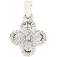 1/4ct Diamond Sterling Silver Pendant